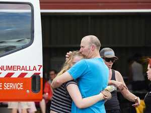 'Heavy hearts': US mourns lost fireys