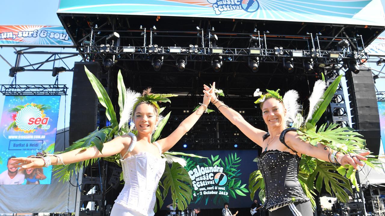 Jazz and Leonie at the Caloundra Music Festival 2019. Photo: John McCutcheon / Sunshine Coast Daily