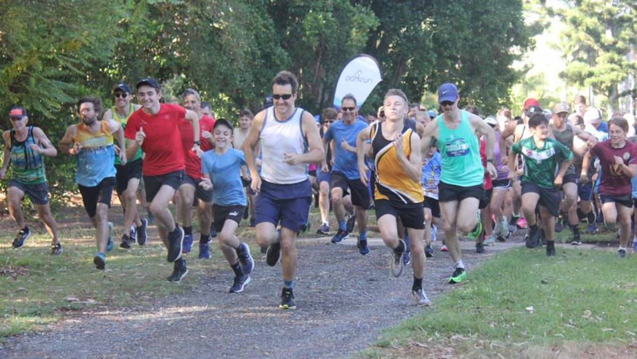 Runners flock to the city's Botanic Gardens for Rockhampton parkrun every Saturday morning.