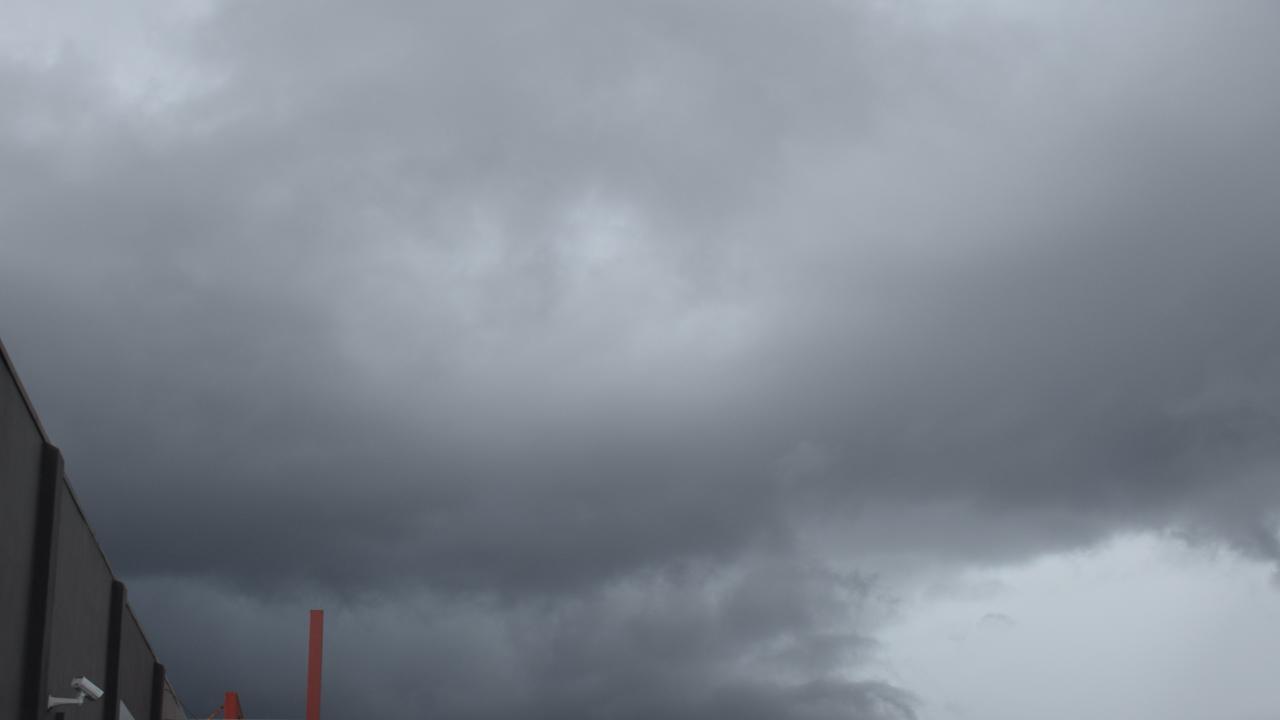 Clouds over Rockhampton