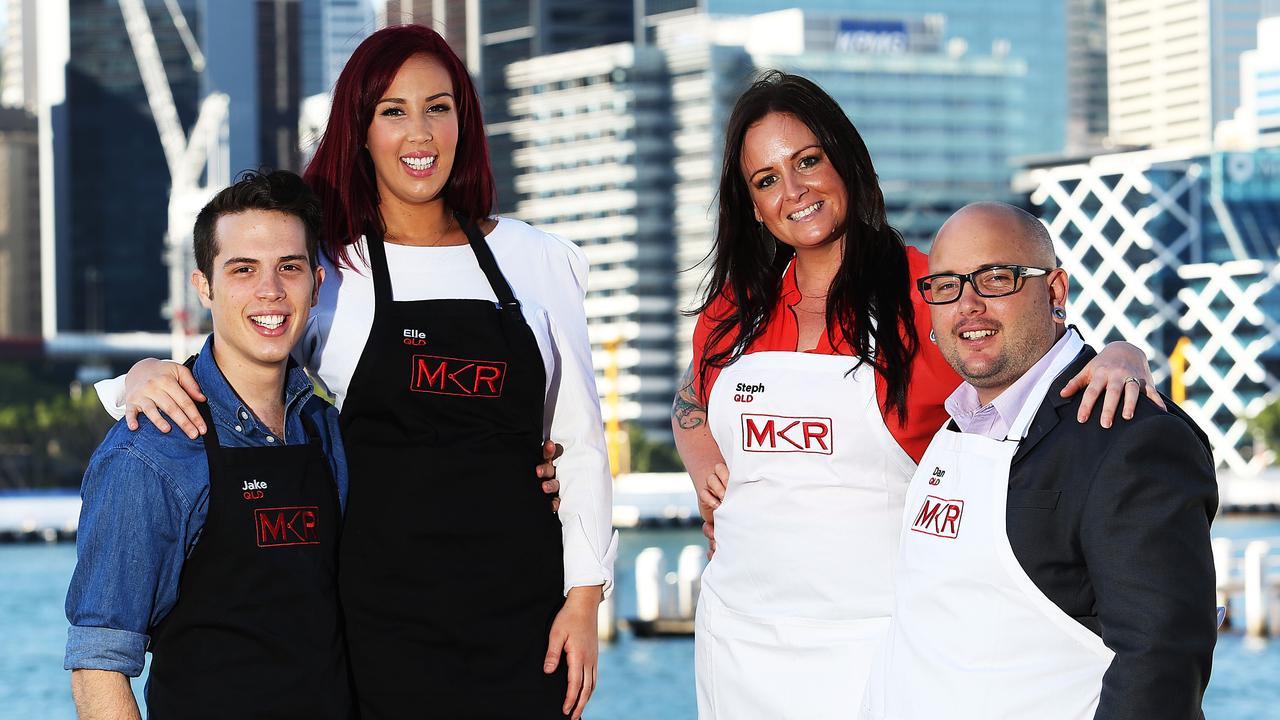 Jake and Elle and Dan and Steph faced off in 2013's all-Queensland MKR grand final.
