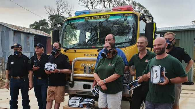 Life-changing gift touches brave rural fireys