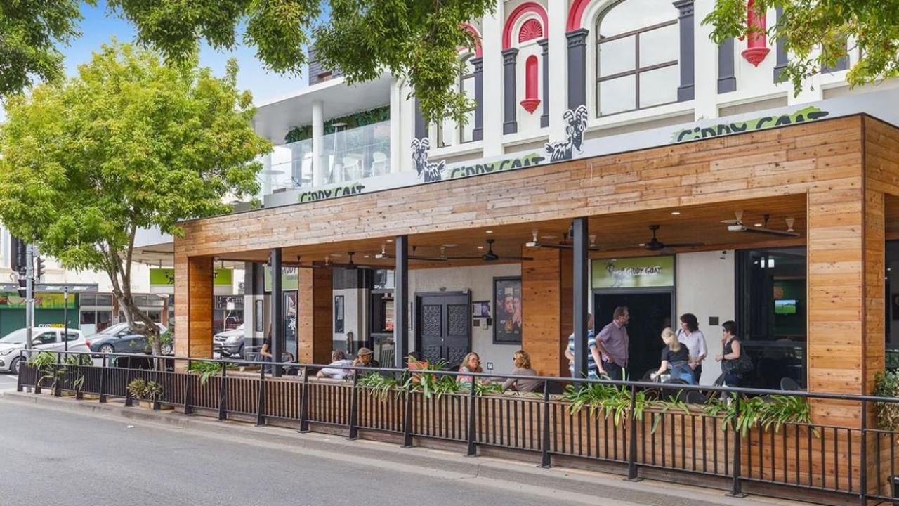 Giddy Goat Cafe and Bar.