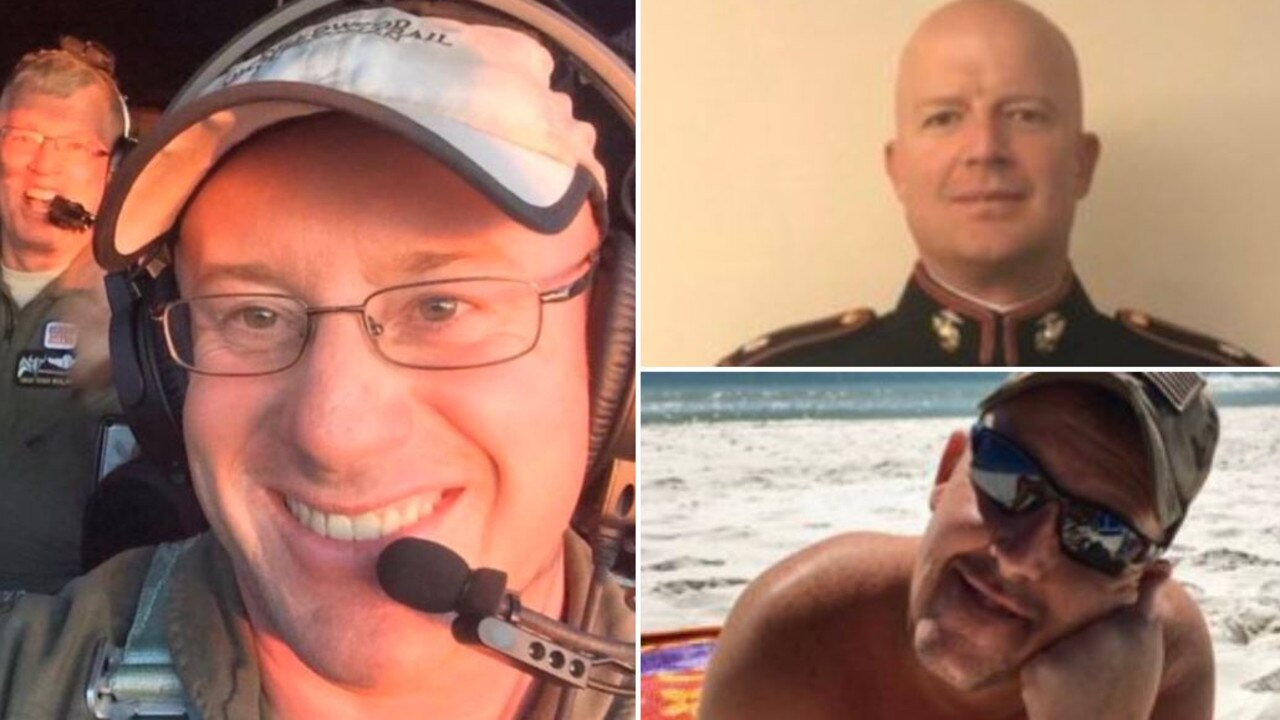 The three Americans who tragically died yesterday.