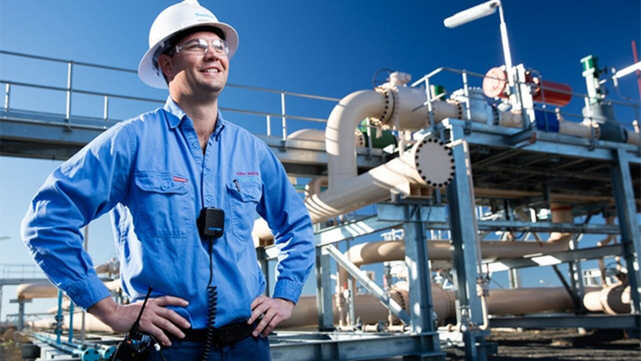 Santos numbers are good news for Gladstone's GLNG plant.