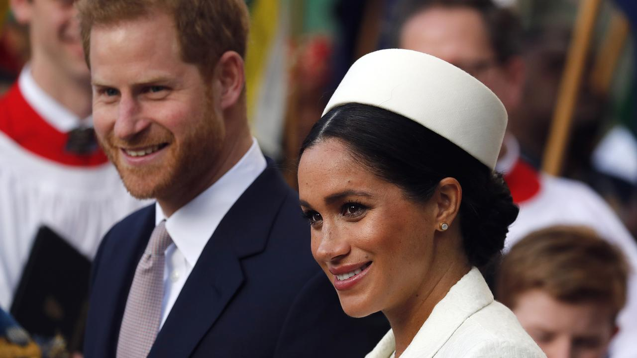 Prince Harry and Meghan Markle. Picture: AP Photo.