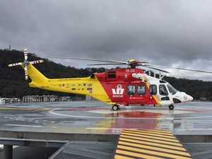 Chopper responds to river incident