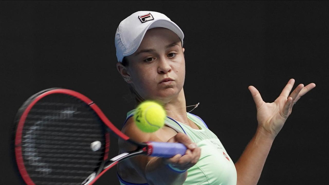 Australian Open: Ashleigh Barty beats Elena Rybakina to reach fourth round
