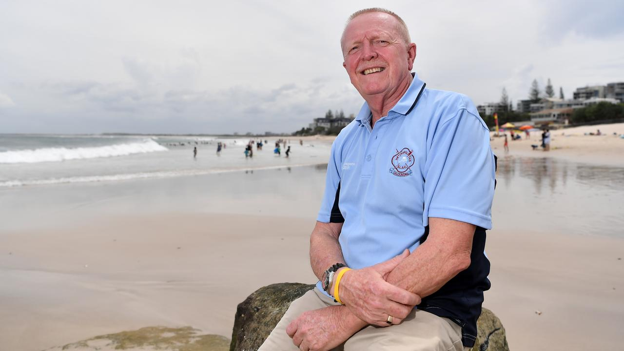 HONOURED: Michael McDonald has been named the Australia Day Honours list and will receive an OAM for his service to surf lifesaving. Photo Patrick Woods / Sunshine Coast Daily.
