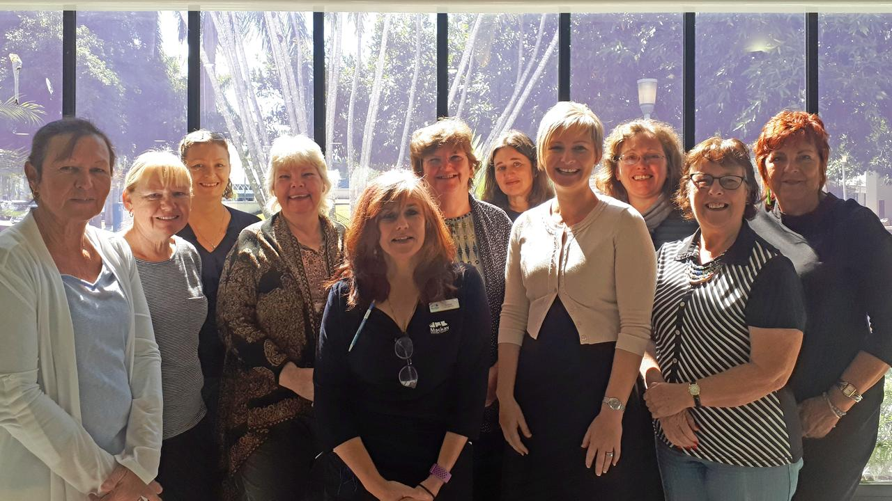 The 2019 research group with library team members and Cr Amanda Camm are (from left) Wendy MacDonald, Francis Balmer, Robyn Chester-Master, Jennifer Perry, Donna Kellion, Debbie Brooker, Lisa Vassallo, Cr Amanda Camm, Julie Harris, Caroline Field and Kathy Tahana. Picture: Contributed