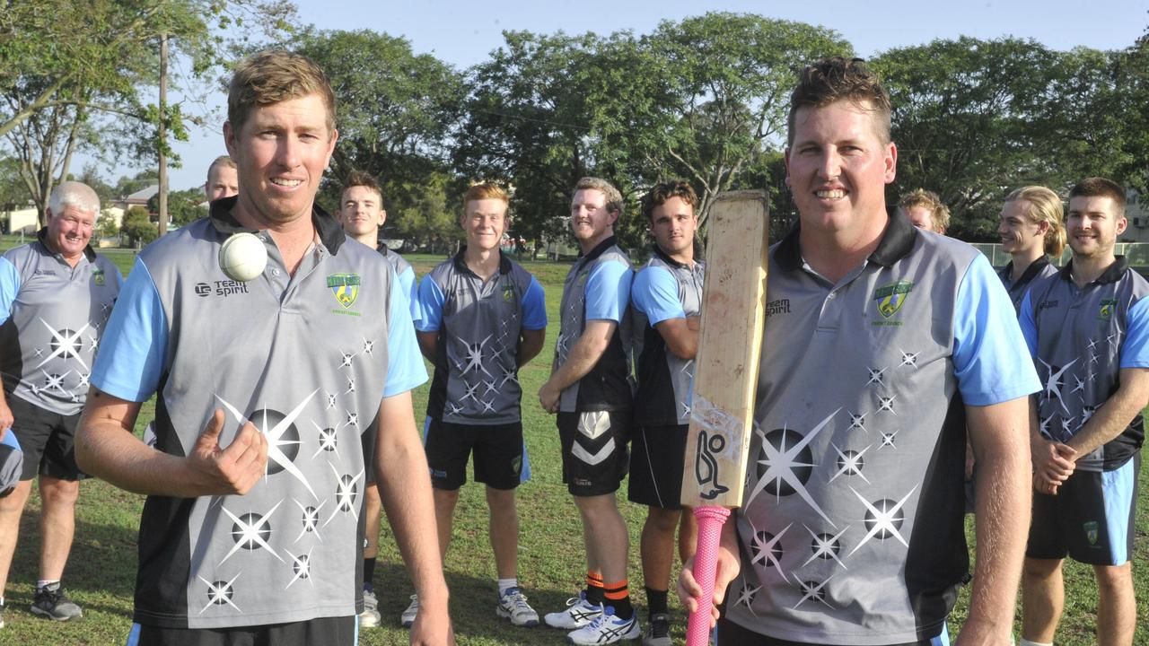 Ben McMahon and captain Richie Gallichan will lead the Coffs Coast Chargers team at the 2020 Plan B Regional Bash at the Sydney Cricket Ground on Sunday.