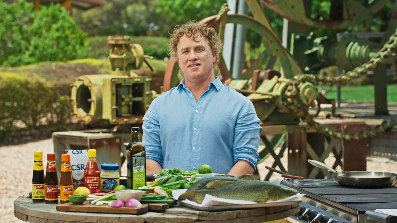 Celebrity chef Adrian Richardson will promote Darling Down food tourism in the second season of his web series The Chef Secret, released Tuesday.