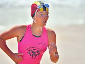 Surf Lifesaving action from the Maroochy Classic on