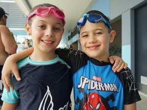 Isabella Galea, 9, and Alex Galea, 6.