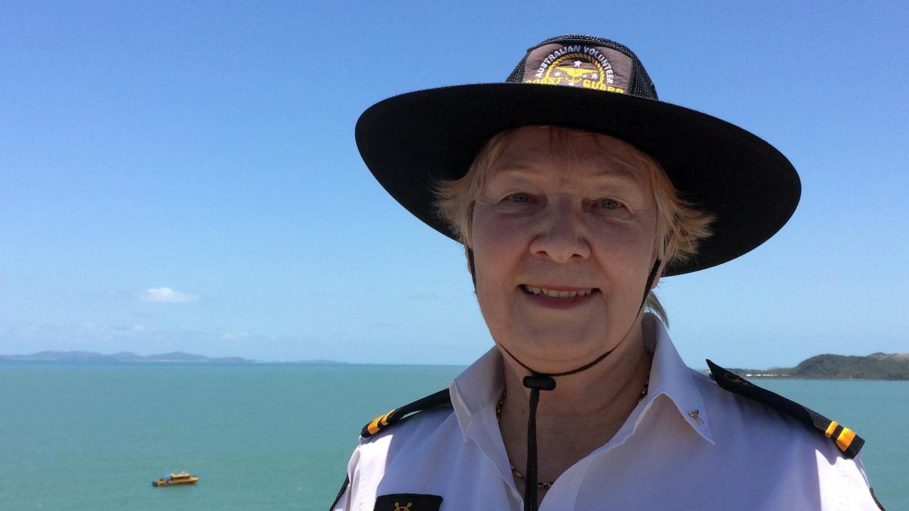 Yeppoon Coast volunteer Guard Elizabeth Goodsell..Photo Amber Hooker / The Morning Bulletin