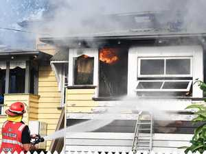 Town's generosity for family who lost everything in fire