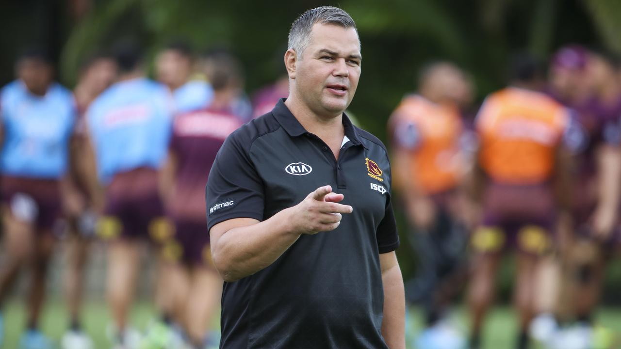 Seibold is accountable for the failures and successes. Photo: AAP Image/Glenn Hunt