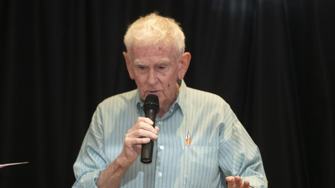 Pat Connolly is named joint Clarence Valley Citizen of the year.