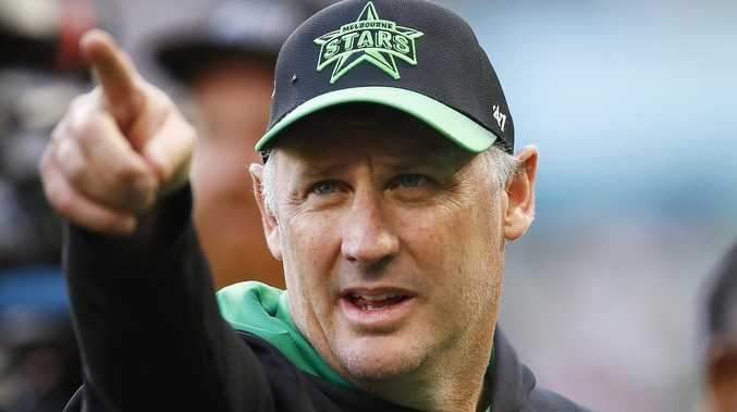 TV interview ends in fine for Melbourne Stars coach
