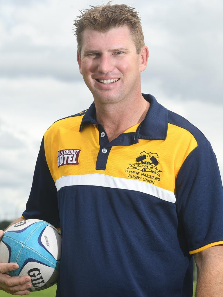 Gympie Rugby Union Club New Hammers men's reserve grade coach Brent Dickfos has the aim of a premiership this season and believes he has the players to make it happen.