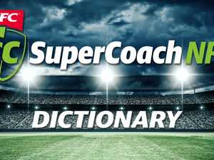 SuperCoach dictionary: fantasy jargon explained