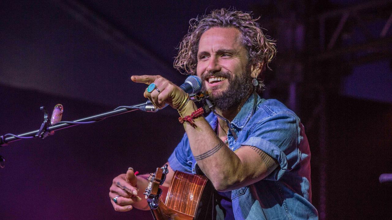 John Butler at the 2019 Airlie Beach Festival of Music. PHOTO: Andrew Pattinson / Vampp Photography
