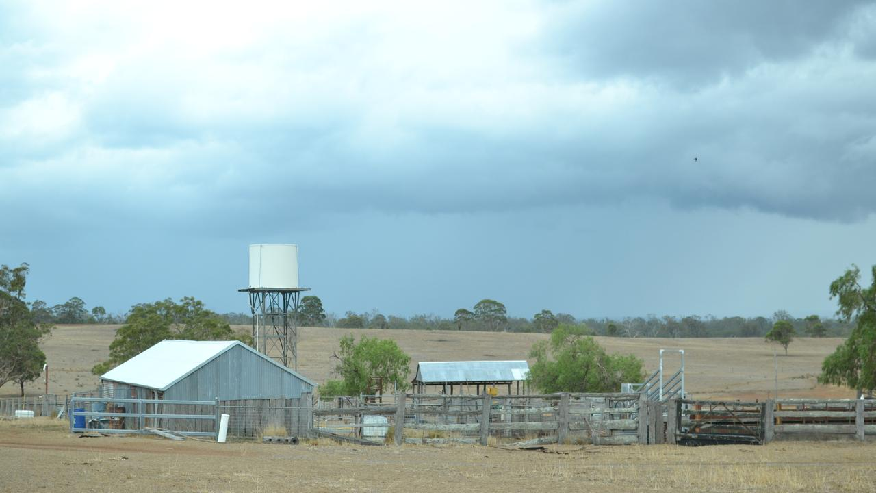 GREY SKIES: Severe thunderstorm warning remains in place as heavy rain hits the Southern Downs.