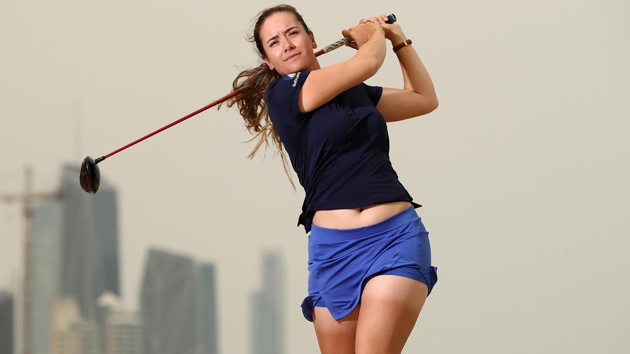 Australian golfer Hannah Green. Picture: PGA of Australia.