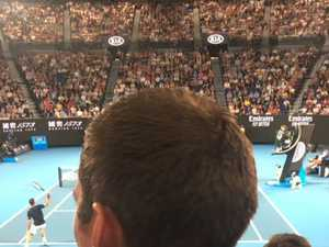 AFL star apologises for Australian Open stitch-up
