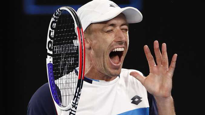 Aussie underdog Millman heckled by home fans during loss
