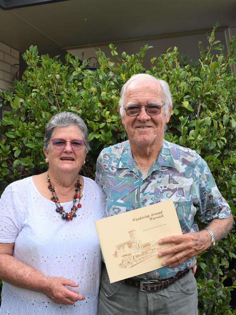 Barbra and Leslie Meiklejohn honoured to receive the award.