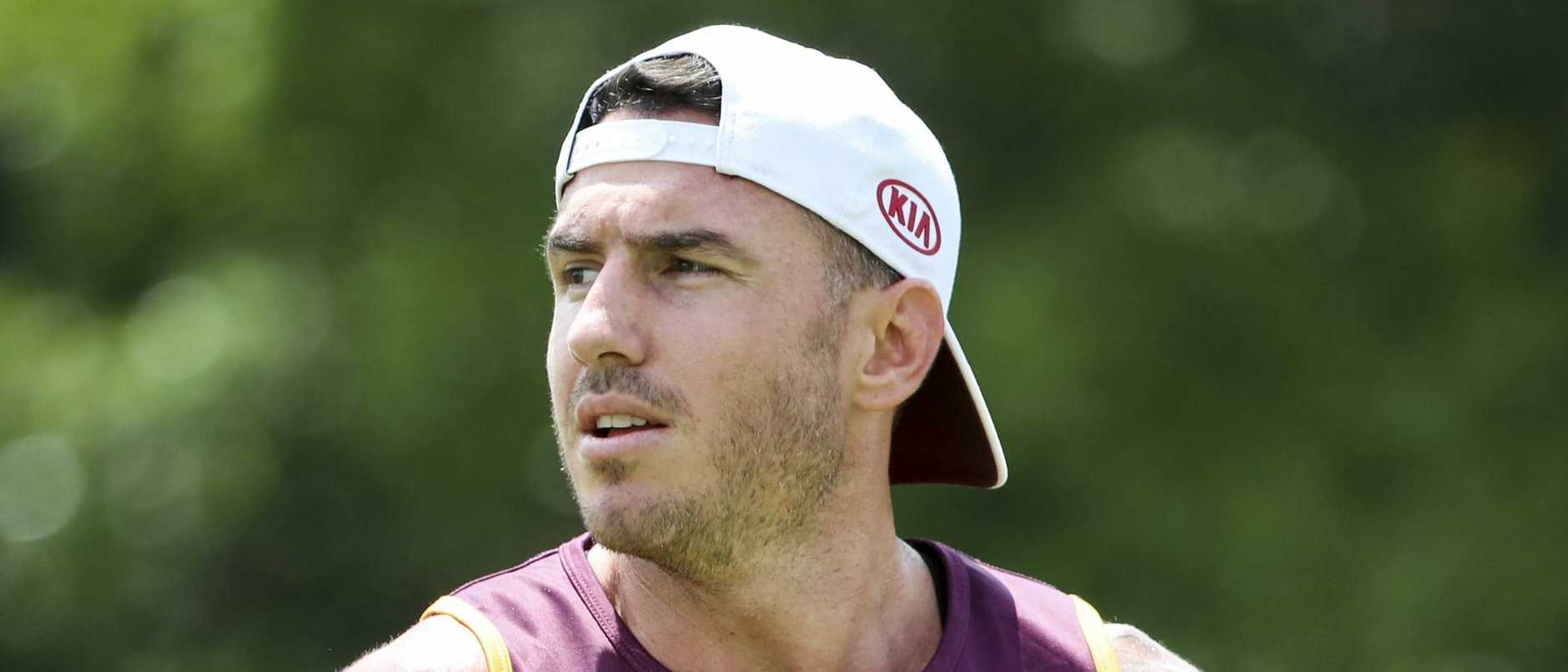 Darius Boyd doesn't mind a bit of ink.