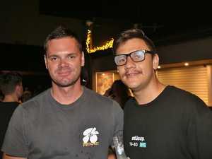 L-R Emmett Taylor and Andre Jourbert at Zodiac
