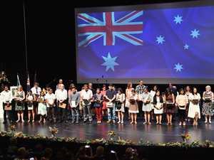 Fraser Coast Citizenship Ceremony Australia Day