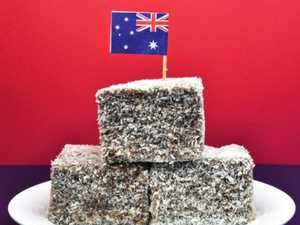 Australia Day lamington death caught on camera