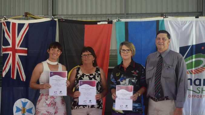 MAJOR AWARDS: Dedication honoured on Aus Day