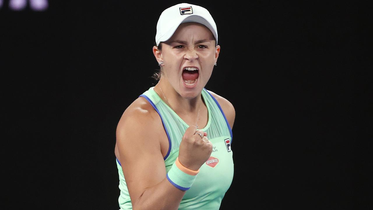 Ash Barty is into the quarter-finals. Picture: Michael Klein