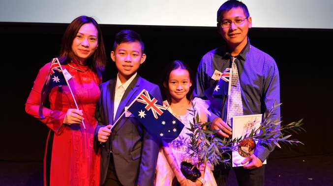 Over 100 new citizens celebrate becoming Australian