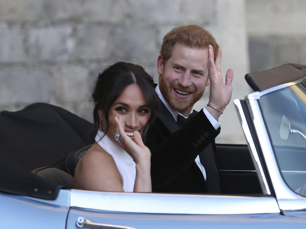 The Duke and Duchess of Sussex have made the shock decision to step back from the royal family. Picture: Steve Parsons
