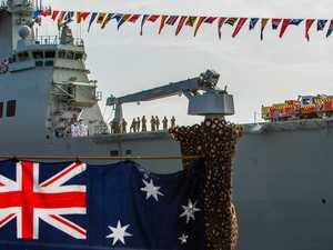 Emotional harbour ceremony for new Australians