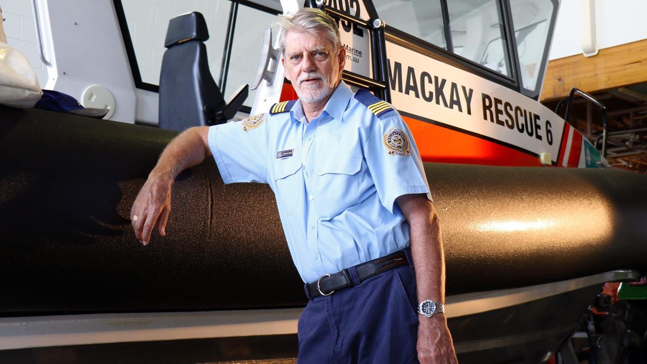 Charles Linsley is a skipper with Volunteer Marine Rescue Mackay.