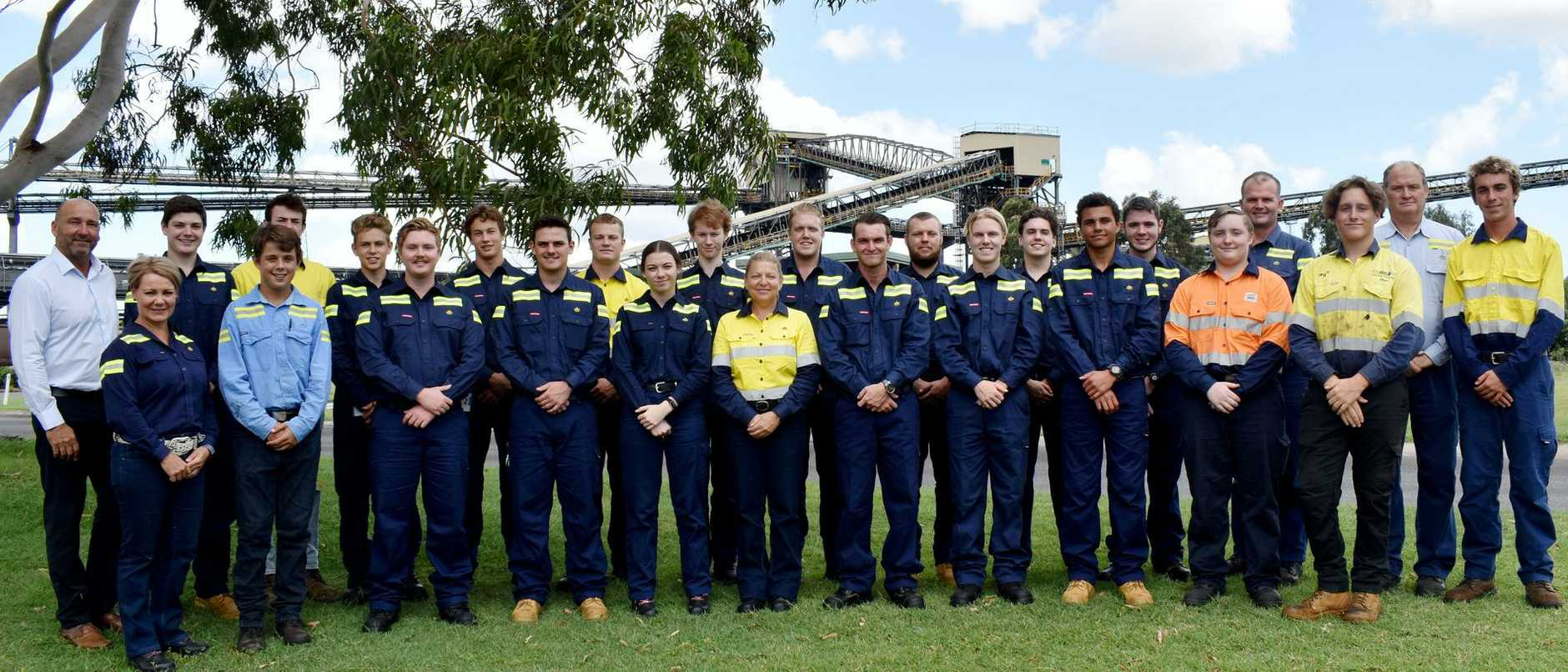 Gladstone Ports Corporation's 2020 apprentices and trainees
