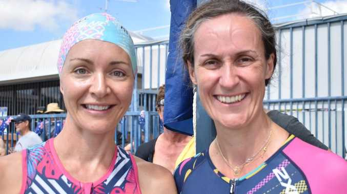 TRI TIME: Athletes kick off Aus Day with a bang