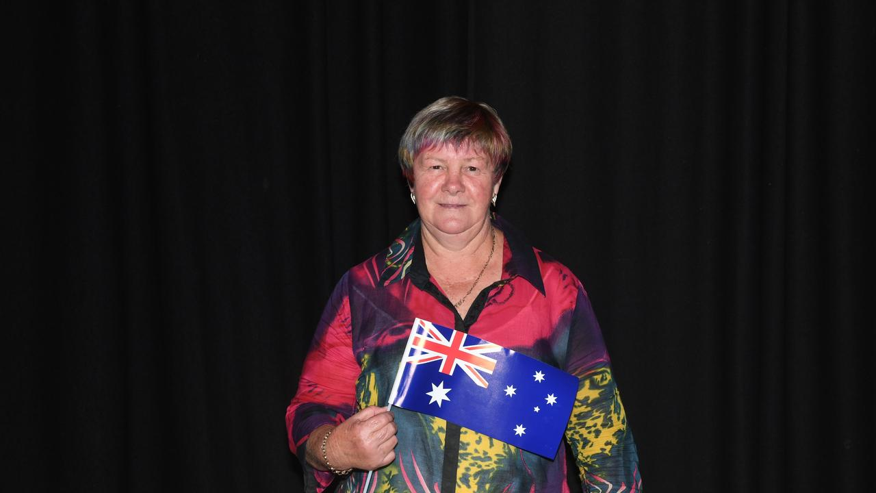 Gympie Regional Council Mayor Mick Curran announced the winners of the 2020 Australia Day Awards in front of a packed crowd at the Civic Centre.- Marlene Owen (Order of Australia Medal recipient)