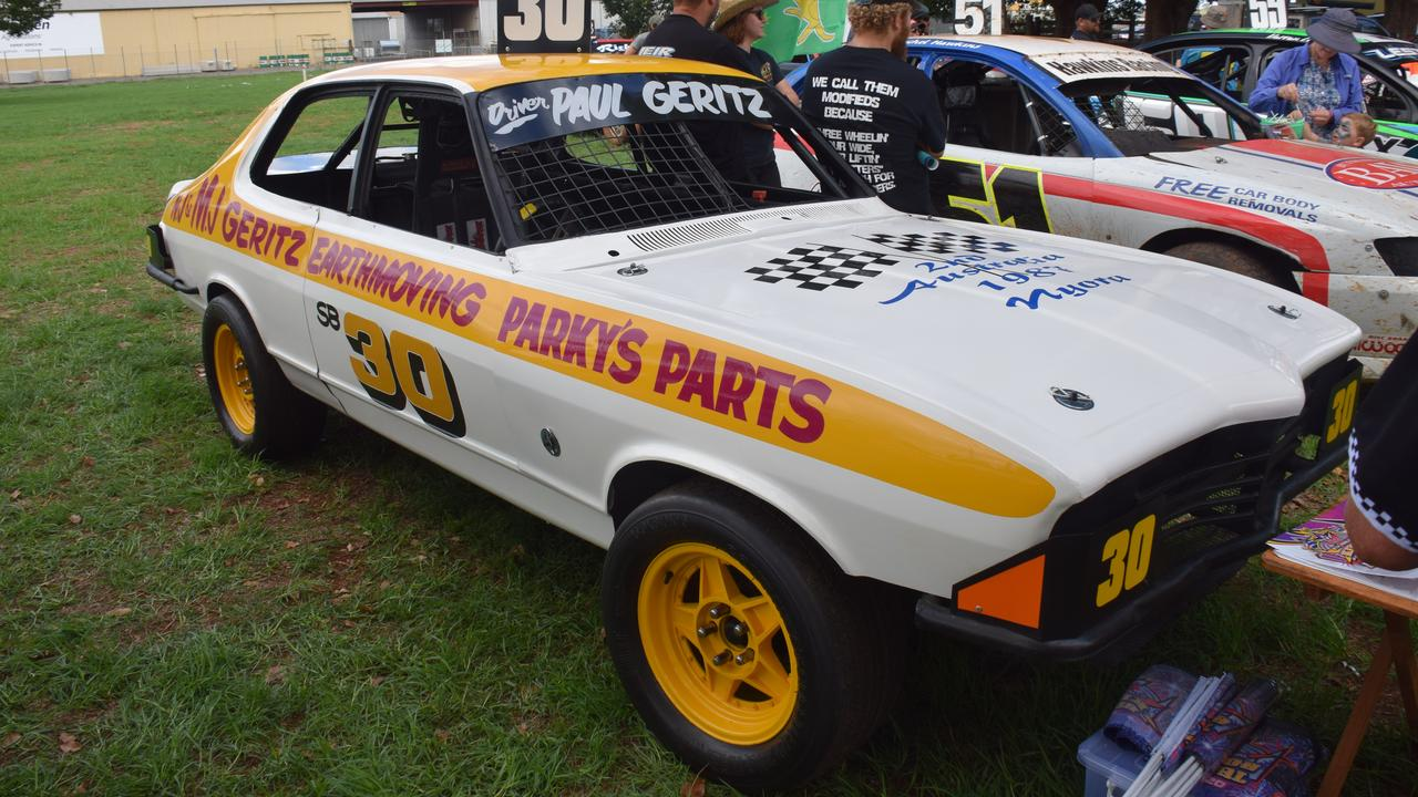 FAST CAR: The 1987 replica productions sedan built by Paul Geritz from scratch. (Picture: Tristan Evert)