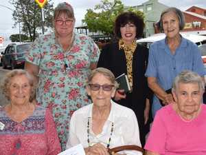 Joyce Ward, Shirley Shannon, Jan Coombe, Tara Cowen