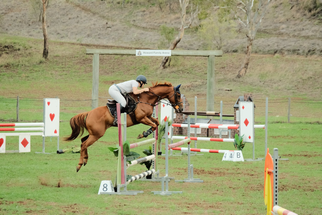 Image for sale: Kylie Zabel competing in the 110cm super two phase event.