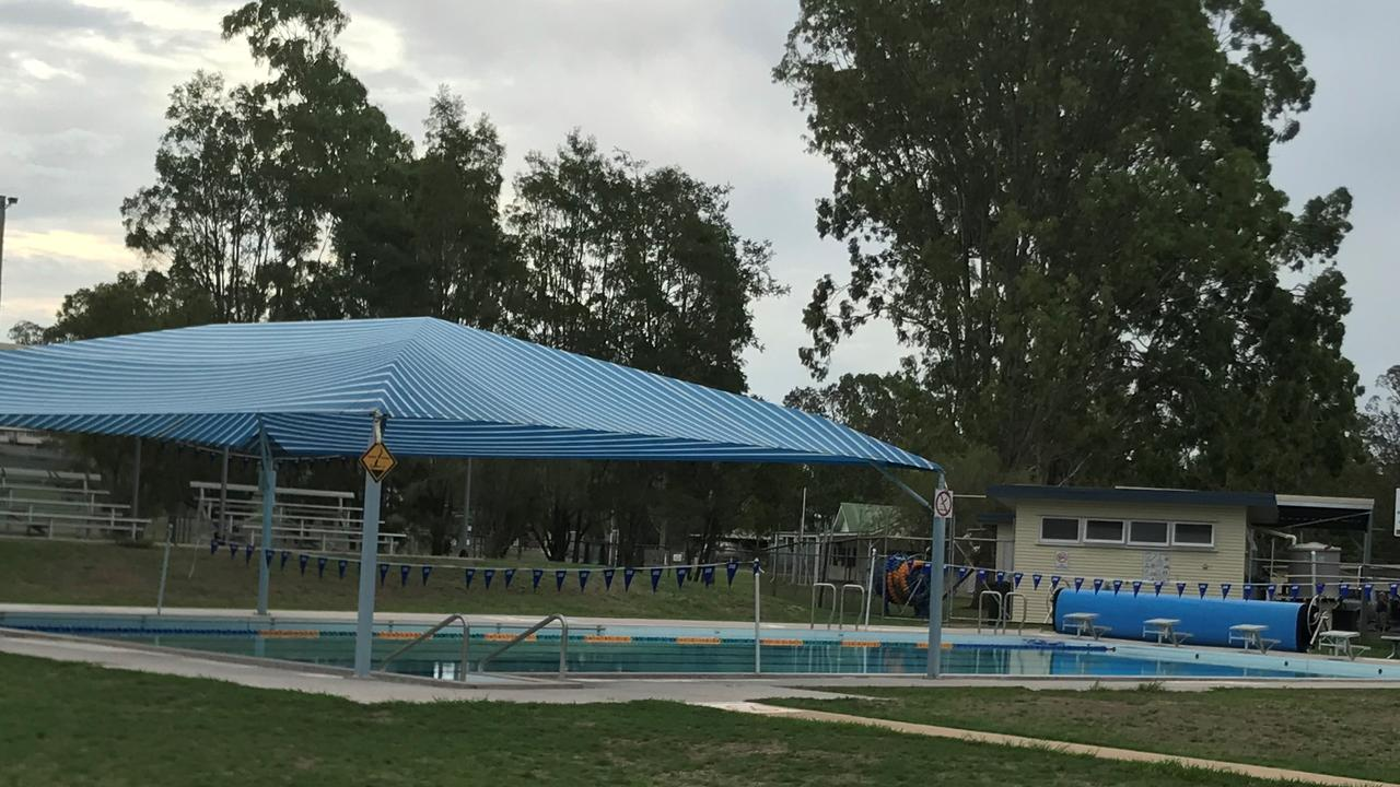 Goomeri Pool is currently closed and residents have to catch a bus to Kilkivan for a swim. (Photo: Jessica McGrath)