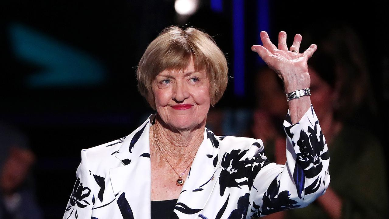A ceremony dedicated to Margaret Court may have went off without a hitch, but many tennis stars used the celebration to distance themselves from her views.