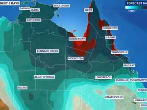 'Triple digits': North Queensland set for big wet